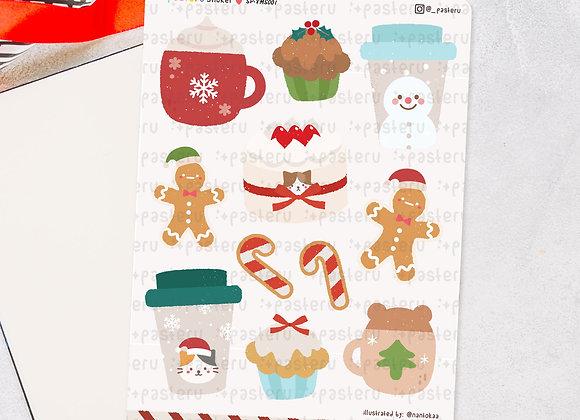 Cute Christmas Beverages - Digital Download