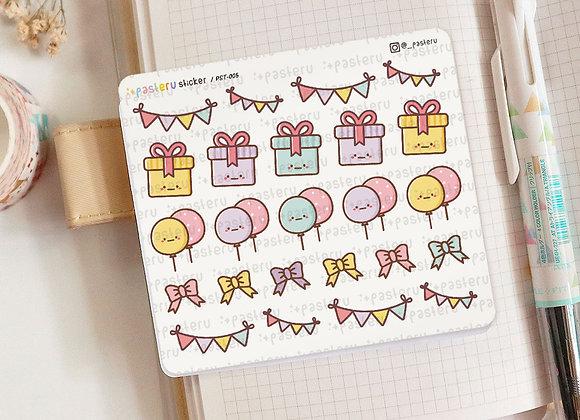 Birthday Sticker - 005