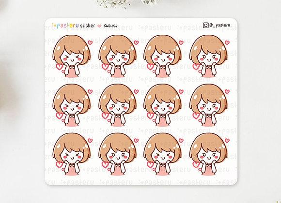 Ruru in Love Stickers