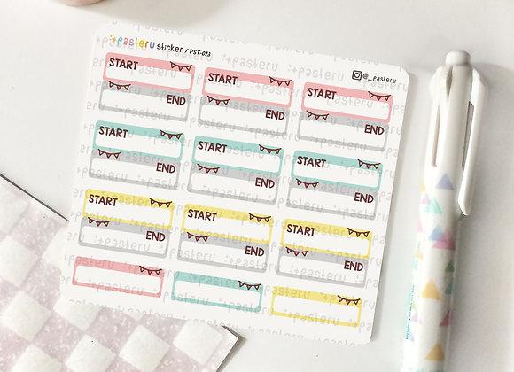 Start~End Tracker - 023
