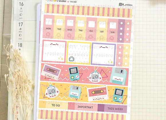 90's Memory - Hobonichi Weeks Kit