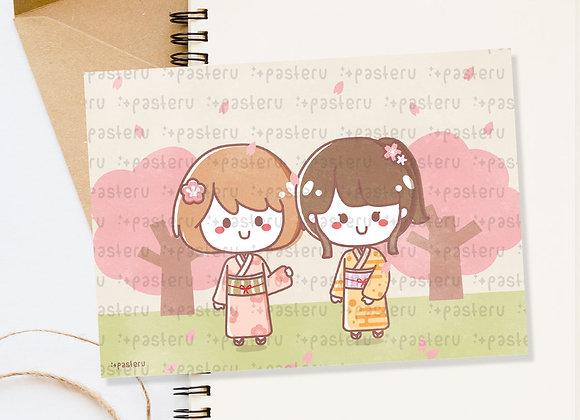 Sakura Park - Journaling Card