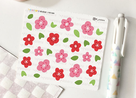 Cherry Blossom Doodle - 084