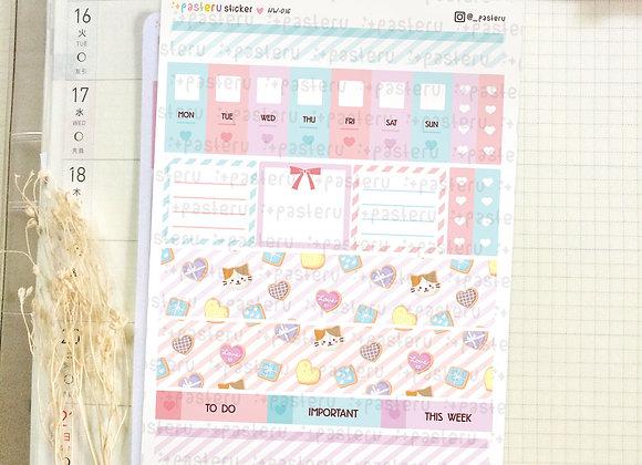 Pastel Cookies - Hobonichi Weeks Kit