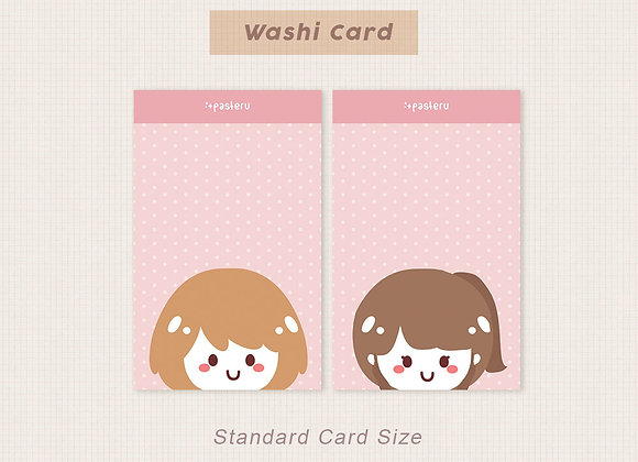 Chibis - Double Sided PVC Card