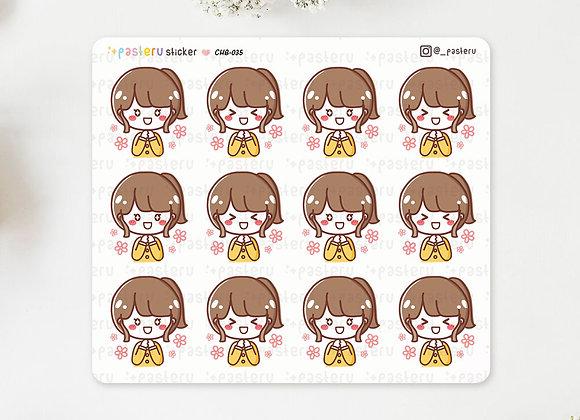 Happy Rina Stickers