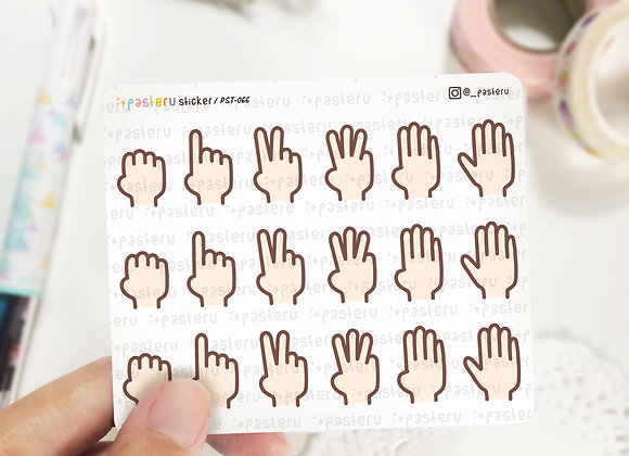 Hand Gesture Numbers