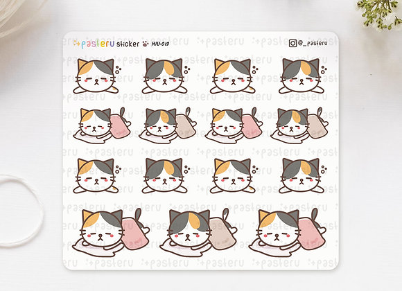Sleeping Cat Stickers