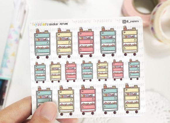Kawaii Raskog Stickers