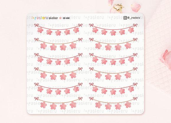 Flag / Garland Sakura