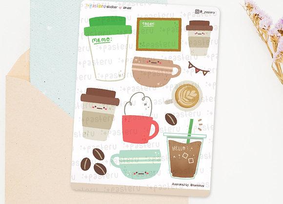 Coffee Writable Deco Stickers