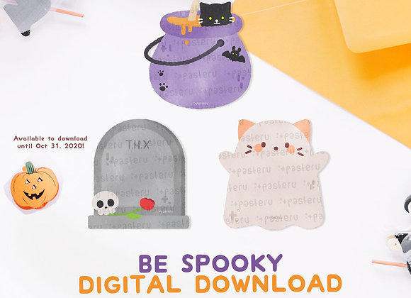 Be Spooky Halloween Digital Download
