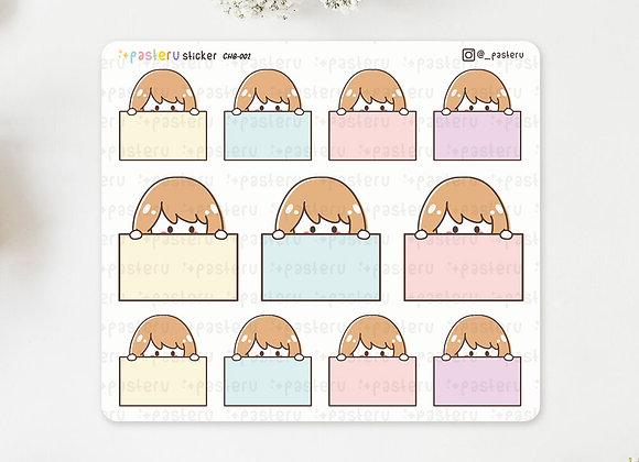 Ruru Blank Note Stickers