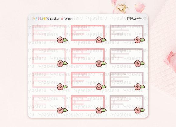 Frame Pastel Sakura
