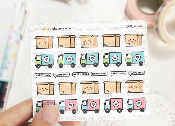 Shipping Box Sticker - 022