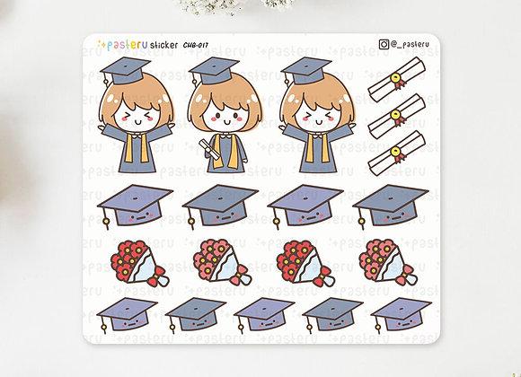 Graduation Ceremony Stickers