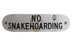 Sign bandit - No Snakehoarding