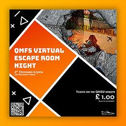 November Virtual Escape Room Night