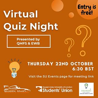 October Virtual Quiz Night