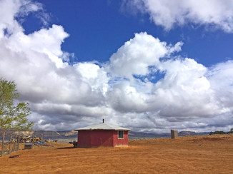 Red Hat, Dine' land. Friend's camp,