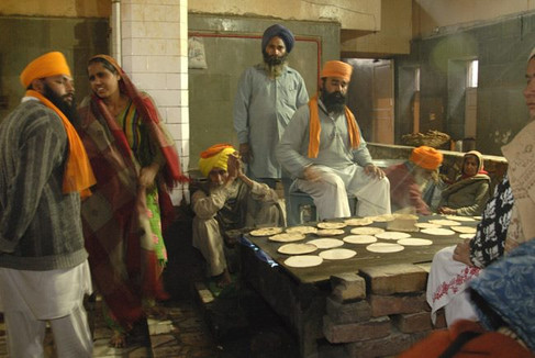 Golden Temple. Feeding 40k people daily for free. Amritsar, India
