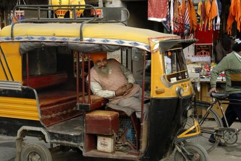 Amritsar streets. India