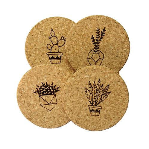 Plant Coasters