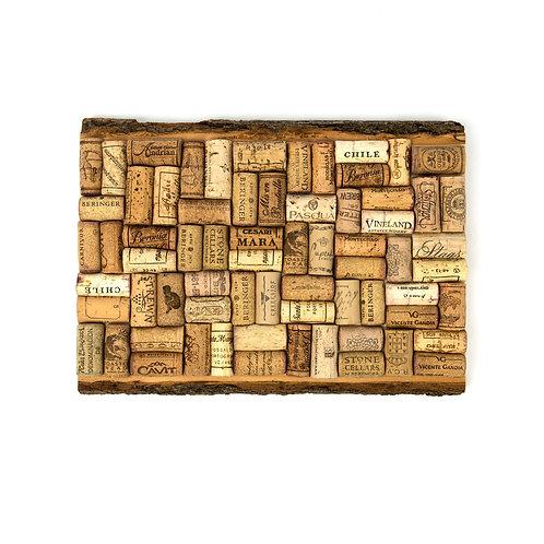 Plank Natural Edge Cork Board