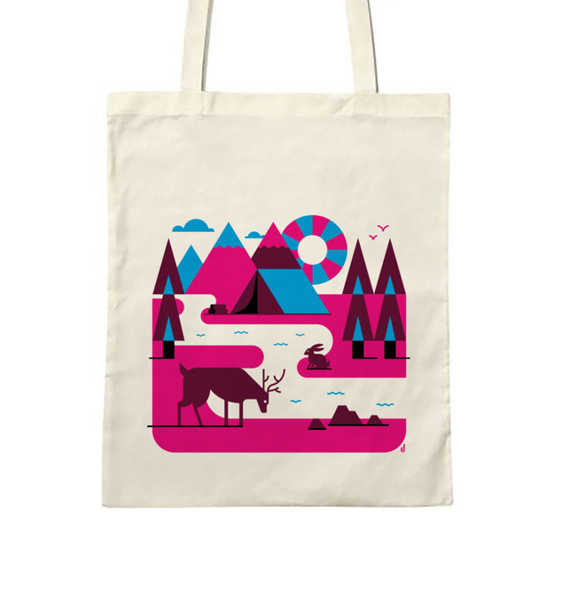 Tote bag Nature & Camping