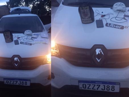 Policiais Militares do 9º BPM de Manacapuru recuperam carro usando em assalto no Bairro Novo Manacá