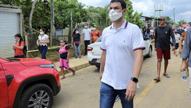 Saullo Vianna acompanha obras e a assinatura da Lei do Hidroviário em Autazes e Careiro Castanho