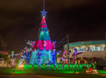 Manacapuru entra de vez no clima natalino