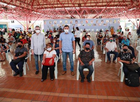 Moradores do Igarapé do Quarenta são indenizados pelo Governo do Estado