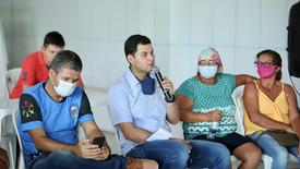 Saullo Vianna debate soluções de infraestrutura com moradores do Careiro Castanho