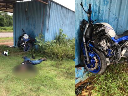 Grave acidente mata motociclista no KM 28 da Rodovia Manoel Urbano