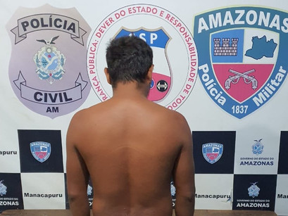Manacapuru | Agricultor de 30 anos foi preso após estuprar enteada de apenas 12 anos idade
