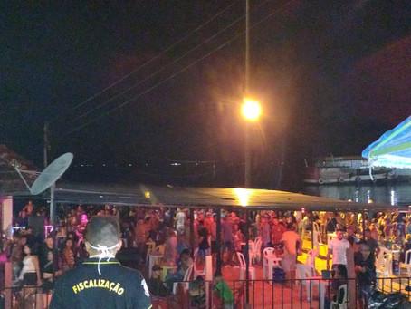 Fiscalização fecha oito bares em Manacapuru por descumprimento dos decretos