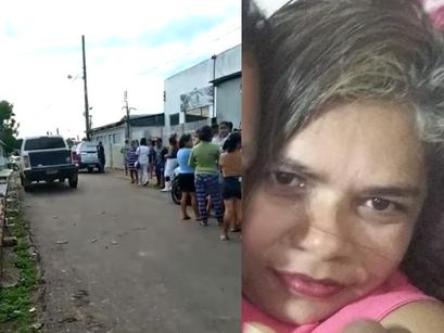 Mulher morre vítima de disparo de arma de fogo no Bairro de Correnteza, em Manacapuru