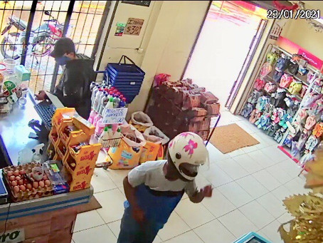 Assaltantes atacam Mercadinho no Bairro da União, em Manacapuru