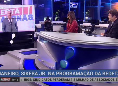 Siqueira Jr em Rede Nacional, apresentador do Alerta Amazonas estreia dia 28 de janeiro na Rede TV