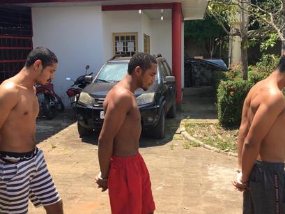 Vídeo || 17 presos foram levados de Manacapuru para Manaus na tarde desta terça-feira