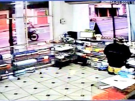 Em Manacapuru, assaltantes atacam novamente, dessa vez o alvo foi uma drogaria, no centro da cidade