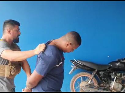 Vídeo   Foragido de Roraima, marido de vereadora de Manacapuru é preso pela Polícia Civil