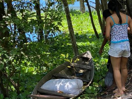 Morador do São Francisco, em Manacapuru, desaparece e vizinhos encontram a canoa dele no Rio Miriti