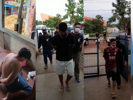 Polícia Civil com apoio do Fera deflagra operação contra o tráfico em Novo Airão, cinco foram presos