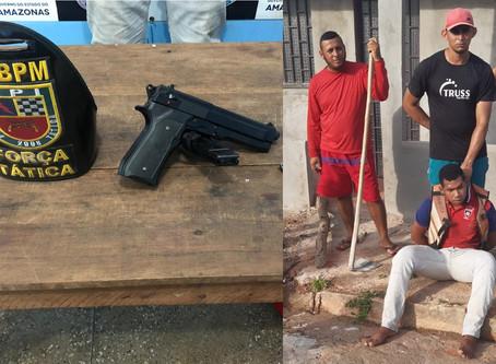 Moradores capturam ladrão disfarçado de mototaxista no Bairro Deus é Fiel em Manacapuru