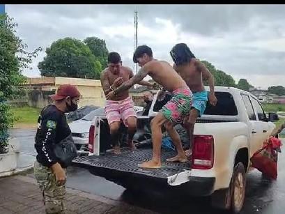 Policia Civil prende cinco pessoas ligadas ao tráfico de drogas em Manacapuru