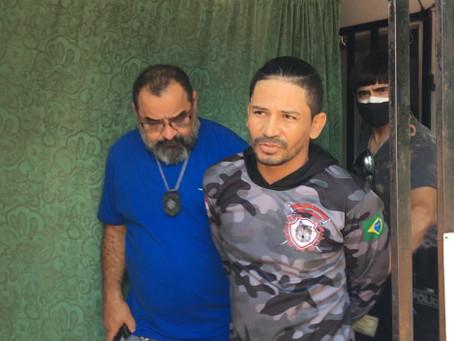 Vídeo | 'Paulo Macumbeiro' foi preso suspeito de estuprar uma adolescente de 15 anos, em Manacapuru