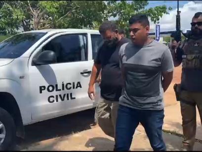 Homem suspeito de tentativa de homicídio foi preso Polícia Civil, em Novo Airão