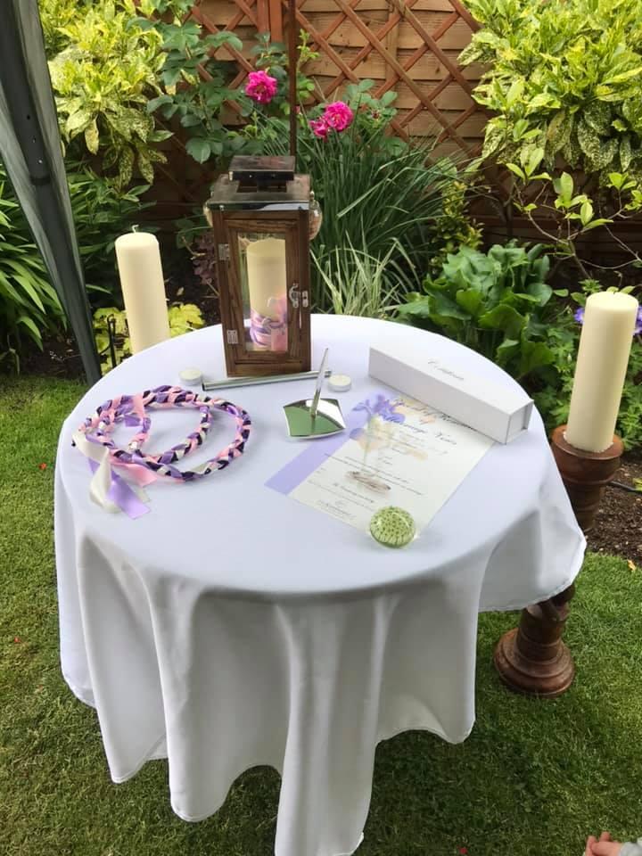 Celebrant Table